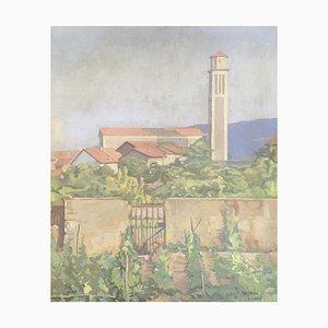 Frédéric Goerg, Vegetable View of the Church of St François-De-Sales, 1942