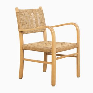 Beech and Rope Chair