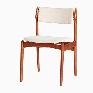 Modell 49 Teak Esszimmerstühle von Erik Buch für OD Møbler, 6er Set