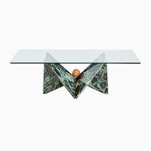Mesa de centro de mármol