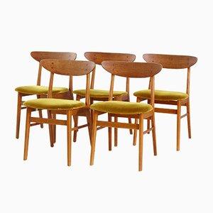 Model 210 Teak Dining Chair from Farstrup