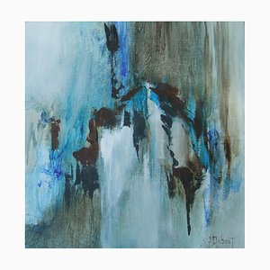 French Contemporary Art, Josette Dubost, And the Light Was, 2015