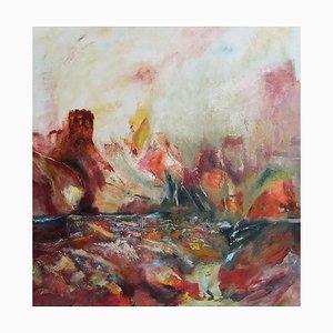 Französische Zeitgenössische Kunst, Josette Dubost, Dialogue Des Elements, 2015