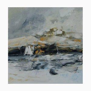 Französische Contemporary Art, Josette Dubost, Walk in Gray, 2020