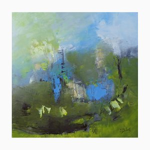 French Contemporary Art, Josette Dubost, Mists and Light, 2020
