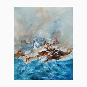 Arte contemporanea francese, Josette Dubost, Fluidites Marines, 2012