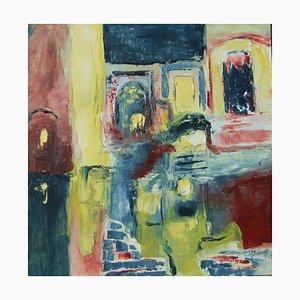 French Contemporary Art, Josette Dubost, La Ville Ancienne, 2015