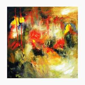 French Contemporary Art, Josette Dubost, Les Profondeurs 3, 2018