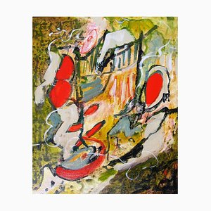 Französische Contemporary Art, Josette Dubost, Joyeuse Promenade, 2018