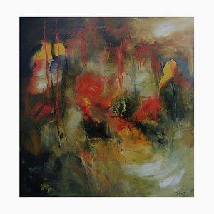 French Contemporary Art, Josette Dubost, Les Profondeurs, 2018