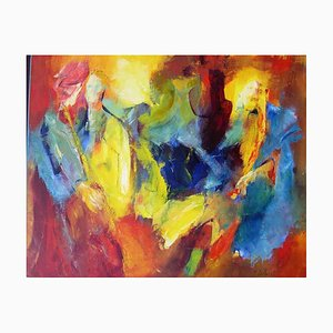 French Contemporary Art, Josette Dubost, The 2012 Tickets