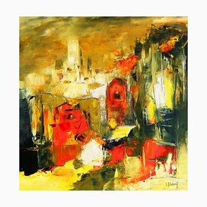 Französische Contemporary Art, Josette Dubost, Les Temps Melanges, 2020
