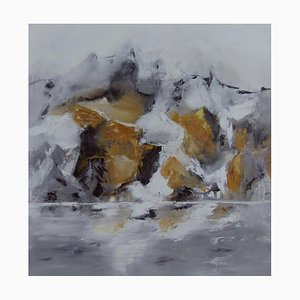 Französische Contemporary Art, Josette Dubost, Pres Des Cimes, 2015