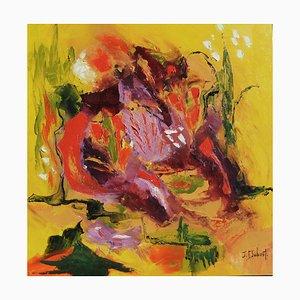 Französische Contemporary Art, Josette Dubost, Nature Heureuse, 2020