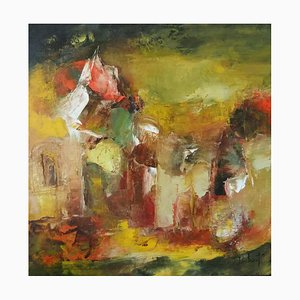 Französische Contemporary Art, Josette Dubost, Splendeurs Anciennes, 2017