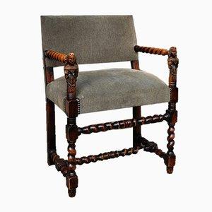 19th Century Louis XIII Style Armchair