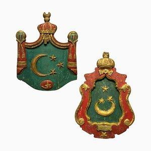 Islamische Wappen, 2er Set