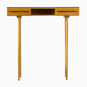 Opaxit Glass Console Table From Up Závody, 1960s