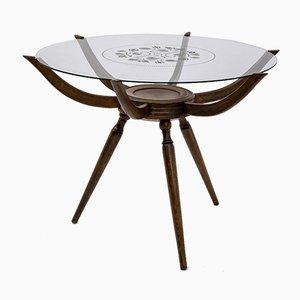 Mid-Century Modern Spider Coffee Table by Carlo De Carli, Italy, 1950s