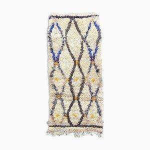 Vintage Berber Beni Ourain Teppich
