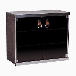 Black Cabinet by Guido Faleschini for Hermès, 1970s