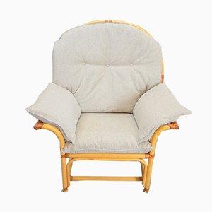 Böhmischer Sessel aus Kunstholz & Leder, 1970er