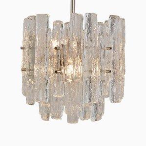 Lámpara de araña de cristal de hielo de JT Kalmar para Kalmar