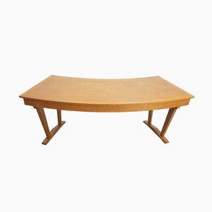 Vintage Schreibtisch aus Holz von Amsterdam School, 1950er