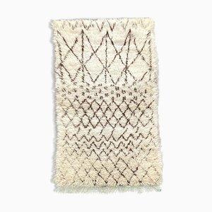 Small Moroccan Beni Ourain Carpet