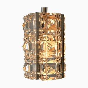 Lámpara colgante de vidrio