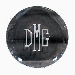 Antiker Firmenschild von Daimler-Motor-Gesellschaft