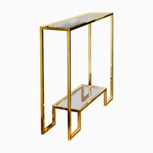 Brass Console A-95 by Rafal Rokowski for GO.OUD - furniture of brass