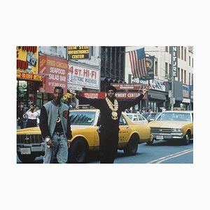 Stampa Eric B & Rakim on 14th Street C-Type di Michael Ochs Archive