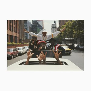Ll Cool J in Limousine C-Type Print by Michael Ochs Archive