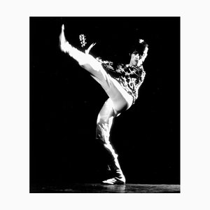 David Bowie Performing Pigment Fine Art Baryta Print by Michael Ochs Archive