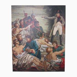 Copia de pintura al óleo de Napoleón