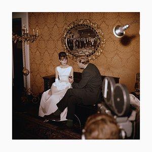 Audrey Interview C-Type Druck von Fox Photos