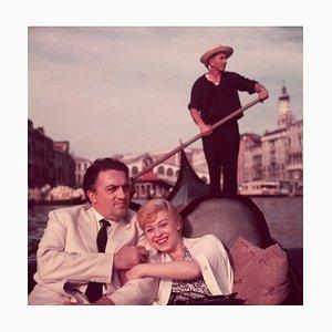 Impresión Federico Fellini C-Type de Hulton Archive