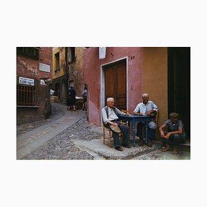 Portofino Cafe C-Type Druck von Hulton Archive