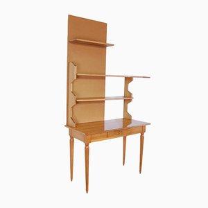 Schreibtisch mit Regalen, 1950er, 2er Set