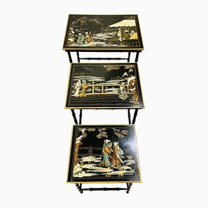 Chinese Nesting Tables, Set of 3