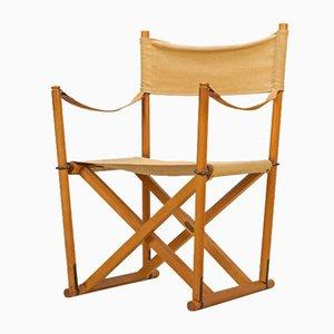 Chaise de Direction MK-16 Safari par Mogens Koch pour Interna, Danemark