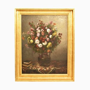 Antikes Gemälde, Öl auf Leinwand, 19. Jh