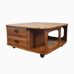 Table Basse Boîte de Pandore par Lucian Ercolani pour Ercol