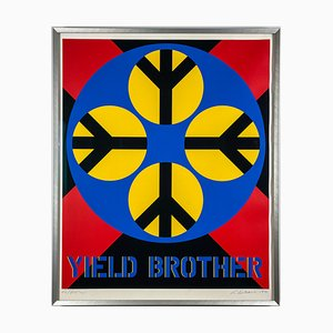 Robert Indiana, Yield Brother, 1971