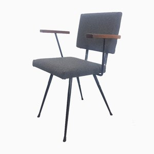 Vintage Dutch Teak Brabantia Side Chair, 1960s