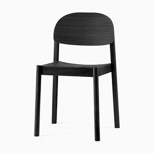 Schwarzer Ovaler Citizen Chair von etc.etc. für Emko