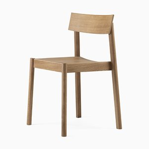 Natural Oil Rectangular Citizen Chair by etc.etc. for Emko