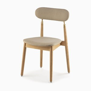 7.1 Chair in Beige by Nikita Bukoros for Emko