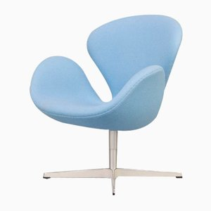 3320 Swan Lounge Chair by Arne Jacobsen for Fritz Hansen